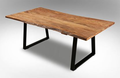 Picture of Rio 1800 Dining Table Black