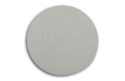 Picture of Round Woven Placemat White
