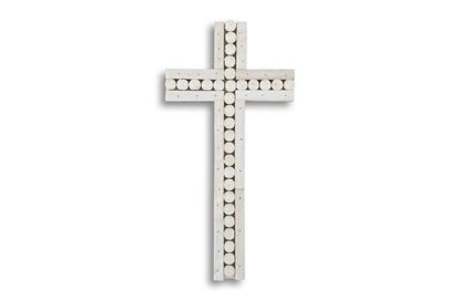 Picture of Cross White Large