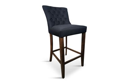 Picture of London Black Barstool