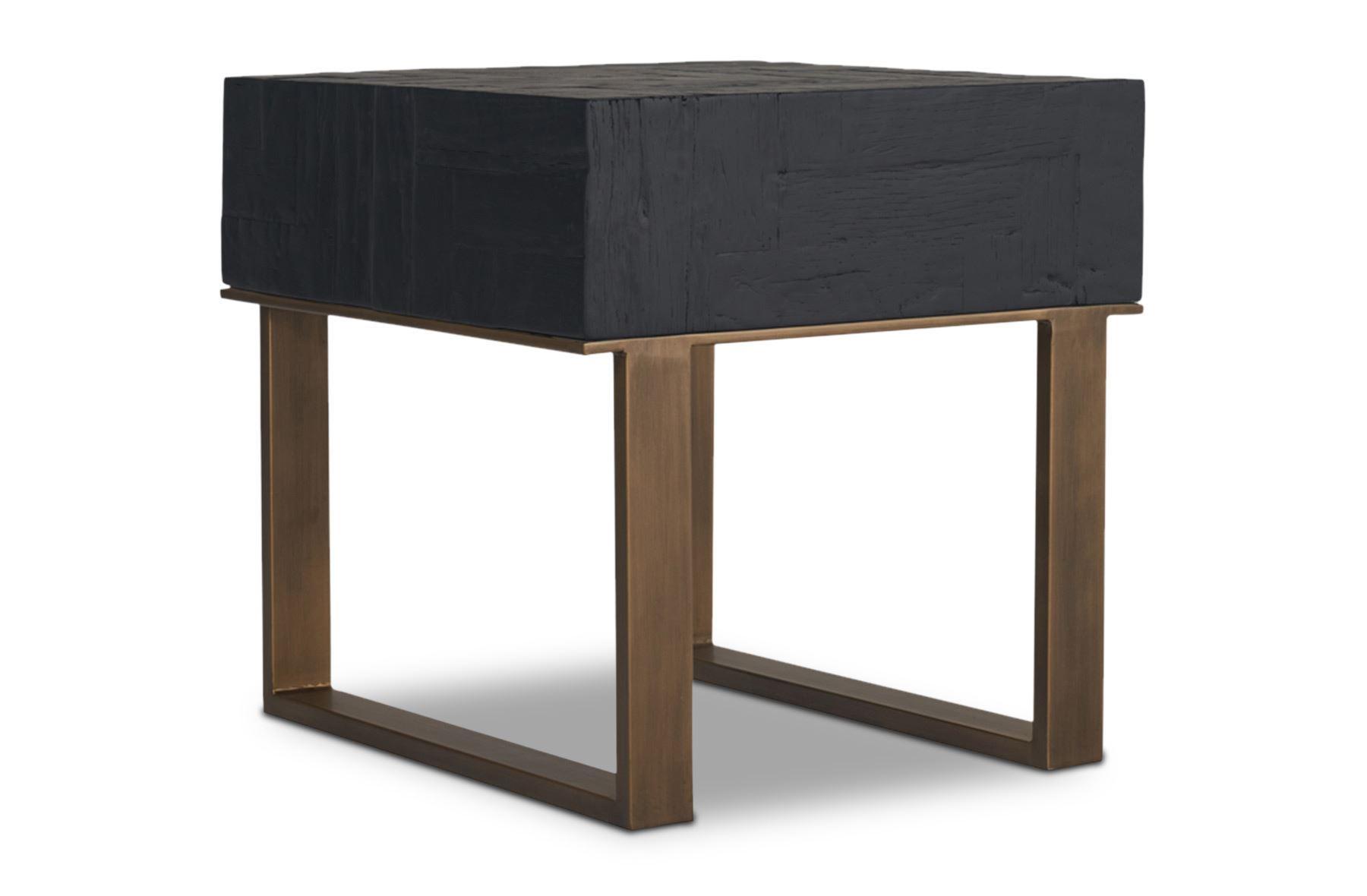 Republic Side Table Black
