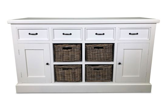 Picture of Noosa Four Drawer Sideboard