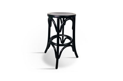 Picture of Webster 65cm Barstool Black