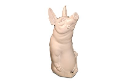 Picture of Ruby Pig Sitting White