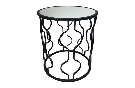 Picture of Atlantic Black Side Table Small