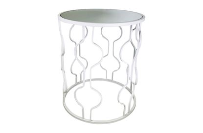 Picture of Atlantic White Side Table Large