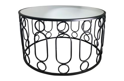 Picture of Glamour Black Coffee Table Small