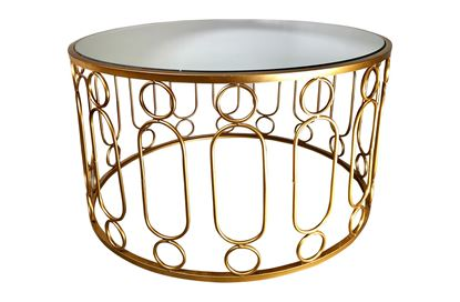 Picture of Glamour Gold Coffee Table Large