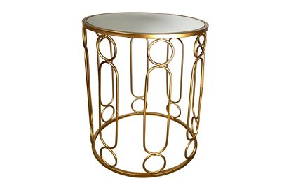 Picture of Glamour Gold Side Table Large