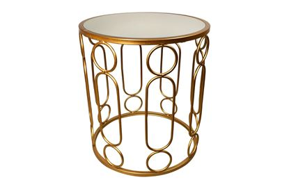 Picture of Glamour Gold Side Table Small