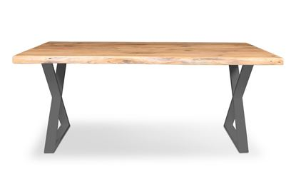 Picture of Bondi 1800 Dining Table Black X Frame