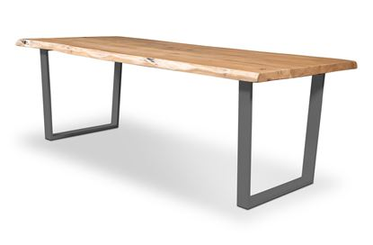Picture of Bondi 2200 Dining Table Black U Frame