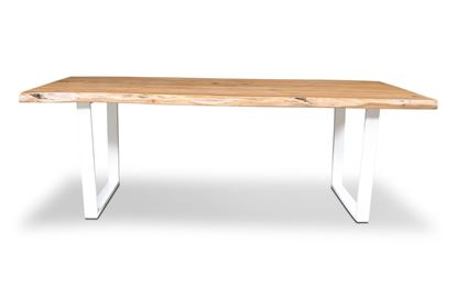 Picture of Bondi 2200 Dining Table White U Frame
