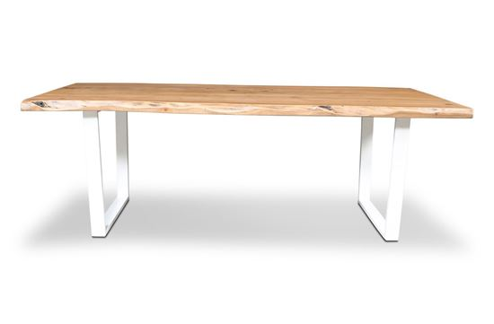 Picture of Bondi 2200 Dining Table White U Frame