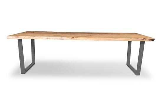 Picture of Bondi 2600 Dining Table Black U Frame