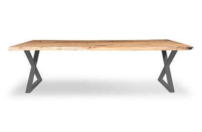Picture of Bondi 2600 Dining Table Black X Frame