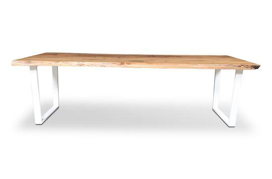 Picture of Bondi 2600 Dining Table White U Frame