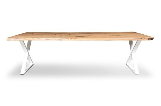 Picture of Bondi 2600 Dining Table White X Frame