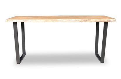 Picture of Bondi Bar Table Black U Frame