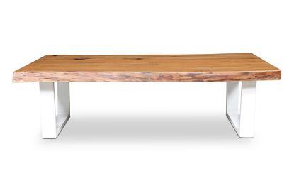 Picture of Bondi Coffee Table White U Frame