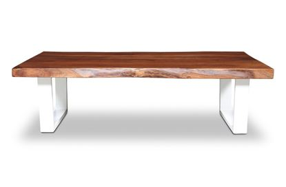 Picture of Prague Coffee Table White U Frame