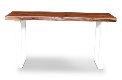 Picture of Prague Console White U Frame
