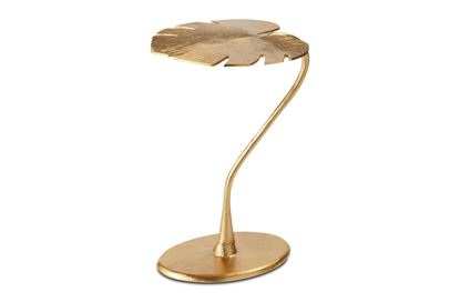 Picture of Gold Leaf Side Table