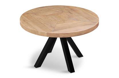 Picture of Sienna Round Dining Table (Black Base)