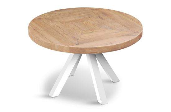 Picture of Sienna Round Dining Table (White Base)