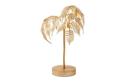 Picture of Golden Palm Lamp