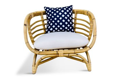Picture of Bermuda Single Natural Frame Seat Amalfi Edition