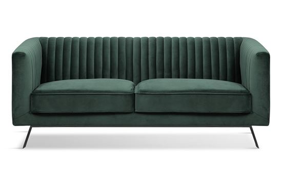 Picture of Mia 2 Seat Sofa Forest Black Base
