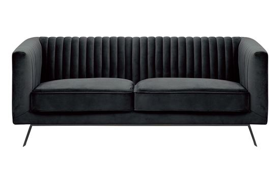 Picture of Mia 2 Seat Sofa Midnight Black Base