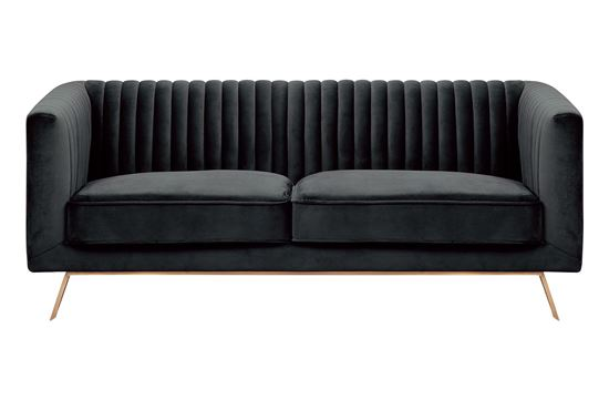 Picture of Mia 2 Seat Sofa Midnight Gold Base