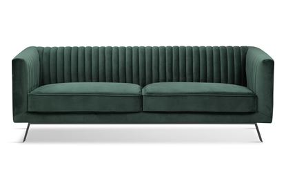 Picture of Mia 3 Seat Sofa Forest Black Base