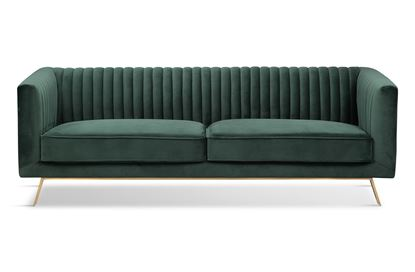Picture of Mia 3 Seat Sofa Forest Gold Base