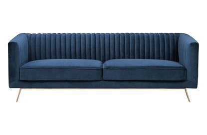 Picture of Mia 3 Seat Sofa Glacier Gold Base