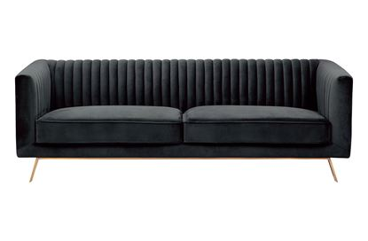 Picture of Mia 3 Seat Sofa Midnight Gold Base