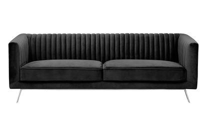 Picture of Mia 3 Seat Sofa Midnight Silver Base