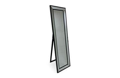 Picture of Cheval Black Floor Mirror