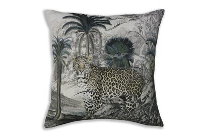 Picture of Leopard Palm Cushion