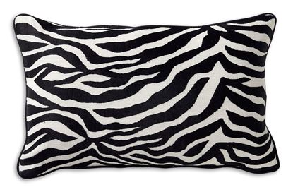 Picture of Luxe Zebra 30x50cm Cushion