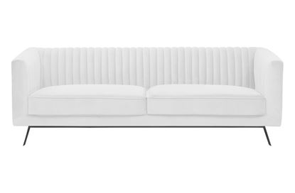Picture of Mia 3 Seat Sofa Ivory Black Base
