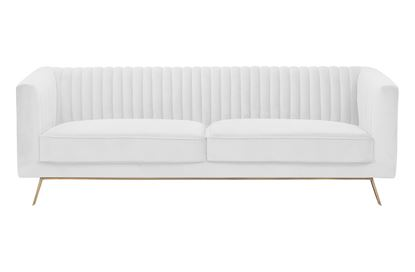 Picture of Mia 3 Seat Sofa Ivory Gold Base