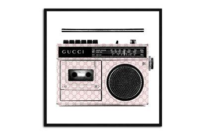 Picture of Gucci Radio 35 x 35 B/F