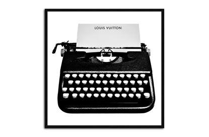 Picture of LV Typewriter 35 x 35 B/F