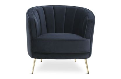 Picture of Georgie Midnight Chair Gold