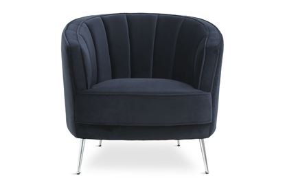 Picture of Georgie Midnight Chair Silver