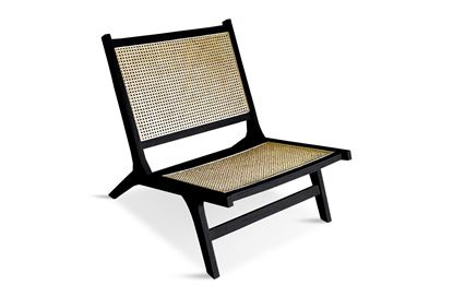 Picture of Eden Black Lazy Chair