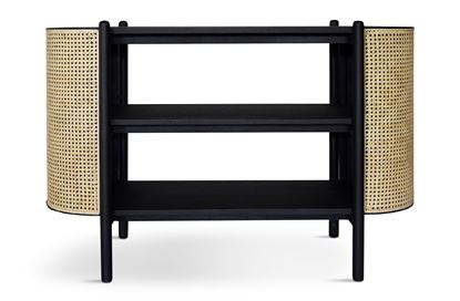 Picture of Eden Black Open Sideboard